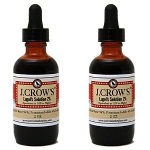 Lugol's Iodine Solution(2 oz.) Twin Pack(2 bot.)