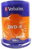 Verbatim  DVD-R 16x Speed, Confezione da 100