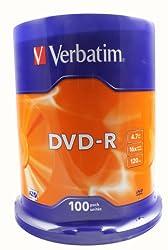 Verbatim 43549 16x DVD-R - Spindle 100 Pack