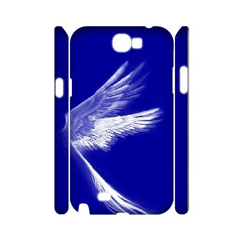 Samsung Galaxy Note 2 N7100 The Wings Of An Angel 3D Art Print Design Phone Back Case Personalized Hard Shell Protection Aq040662