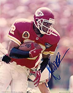Autographed Marcus Allen Kansas City Chiefs Photo by Main Line Autographs