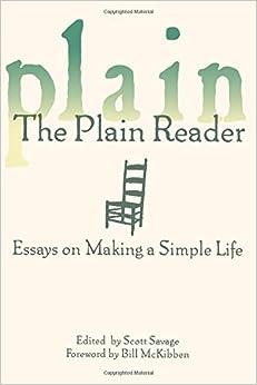 simple life essays