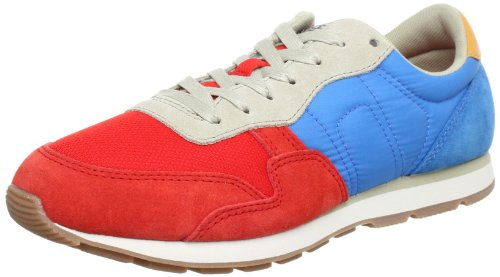 ESPRIT Kivu Lace up Trainers Mens Red Rot (real red 601) Size: 9.5 (44 EU)