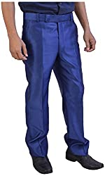 Tayal Mart Men's Formal Trousers (Blue, 32)