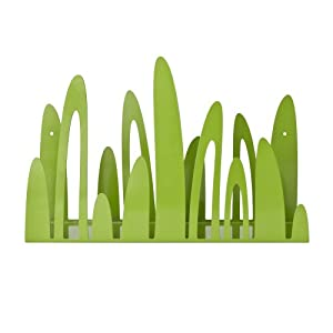 Boon Turf Front-Facing Bookshelf, Green (Discontinued by Manufacturer)