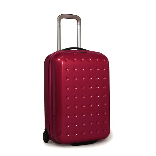 Samsonite Luggage Pixelcube Upright Bag, Aubergine, 20-Inch best offers