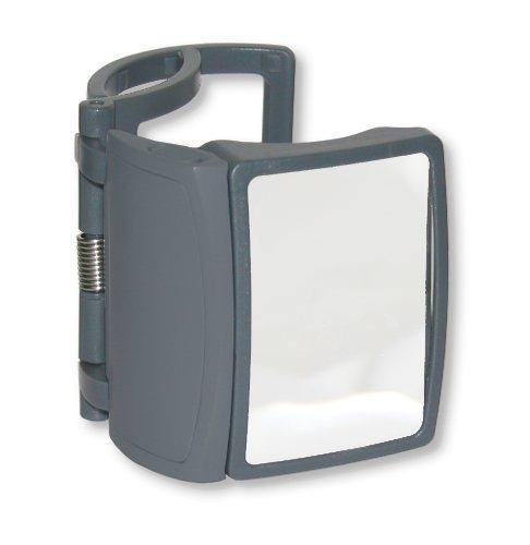 Carson® LED Lighted MagRX 3x Clip-On Medicine Bottle Magnifier (RX-75)
