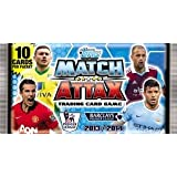 10 Packs Of Cards: Match Attax Trading 2013 - 2014 Card Game - 13/14 Premier League Season * IN STOCK *