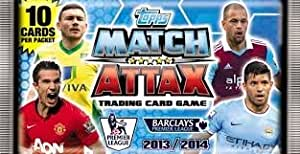 20 Packs Of Cards: Match Attax Trading 2013 - 2014 Card Game - 13/14 Premier League Season * IN STOCK *