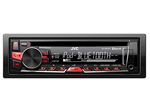 JVC-Auto-Radio-mit-Bluetooth-USB-CD-uvm-passend-fr-Mitsubishi-Colt-CZC-Z3030G3V3B-604-1008-inklusive-der-notwendigen-Blenden-Kabel-und-Adapter