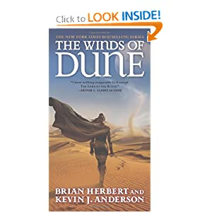 The Winds of Dune (Tor Science Fiction) by Brian Herbert and Kevin J. Anderson