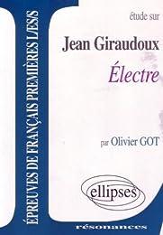 Étude sur Jean Giraudoux,