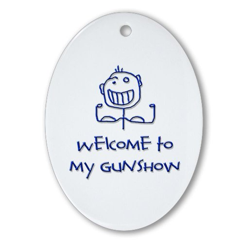 CafePress - Welcome to... Ornament (Oval) - Oval Holiday Christmas Ornament