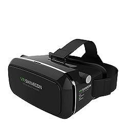 VR Shinecon G-01 3D Virtual Reality Headset, Black