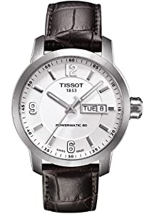 Men's Watch - Tissot - Powermatic 80 - Automatic - Leather Band - T055.430.16.017.00