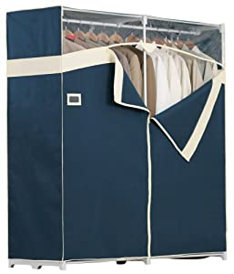 Rubbermaid 3B2803BLTN 60-Inch Breathable Wardrobe Storage, Blue