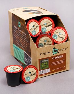 Caribou Coffee Colombia -- 4 Boxes Of 24 K-Cups For Keurig Brewers front-616433