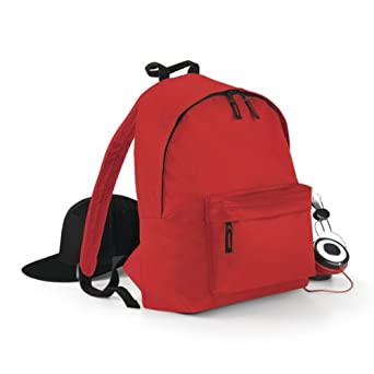 Bagbase Fashion Backpack Colour=Bottle Green Size=O/S