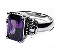 Designer Inspired Embellished Center Stone Ring