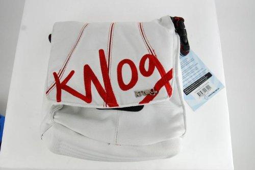 Knog Signature Bicycle Handlebar Bag (Red/White)