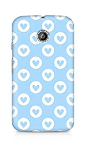 Amez designer printed 3d premium high quality back case cover for Motorola Moto E (Cool Pattern20)