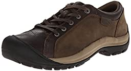 KEEN Women\'s Briggs Leather Oxford,Cascade Brown,9 M US
