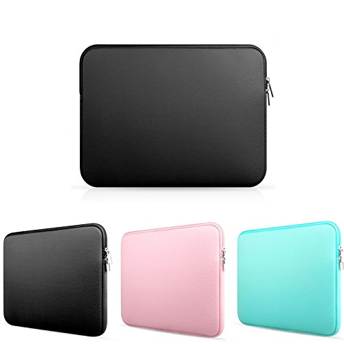Rainbow Neoprene Zippered Laptop Sleeve Case for Apple Macbook Air / Macbook Pro / Samsung / Sony / Dell / HP Notebook.etc (11 Inch, Black) (15 Spinners Wheel Covers compare prices)