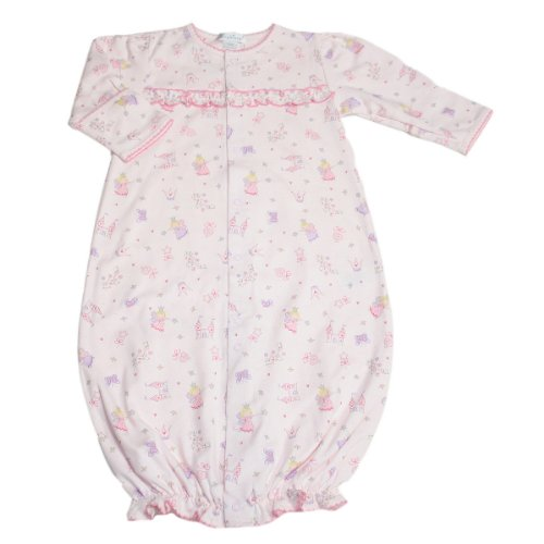 Kissy Kissy Baby Girl Fairyland Print Convertible Gown-Newborn front-1079668
