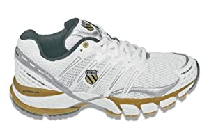 Buy K-Swiss Ladies Keahou II Tennis Shoes (White  Gold  Silver)