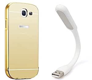 Novo Style Back Cover Case with Bumper Frame Case for Samsung Galaxy Note 2 7100 + Mini USB LED Light Adjust Angle / bendable Portable Flexible USB Light