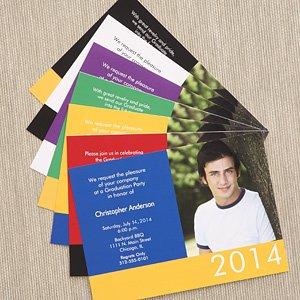 Custom Photo Graduation Invitations - Honor The Graduate front-1047940