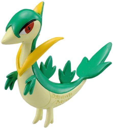 "Takara Tomy Pokemon Monster Collection Mini Figure - 1.5"" Jyanobii / Servine (M-015) (Japanese Import)"
