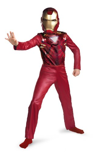 Child Small (4-6) Iron Man Costume Kit