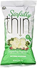 Sinfully Thin Popcorn Superpop Herb and Spice 22 Ounce Pack of 12