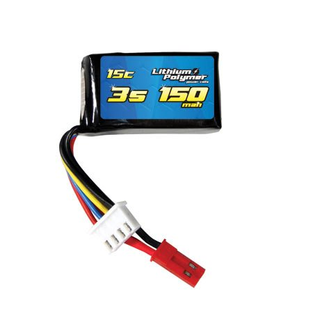 15C 11.1V 150mAh 3S LiPo Battery