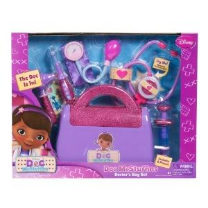 Toy / Game Disney Doc Mcstuffins Doctor'S Bag With 8 Glittery And Sparkly Pieces ( For Ages 3 To 10 Years) front-1032033