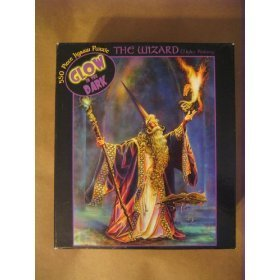 Cheap Ceaco The Wizard Glow in the Dark 550 Piece Jigsaw Puzzle (B002EB187M)