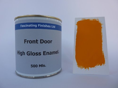 1-x-500ml-bright-orange-high-gloss-front-garage-door-paint