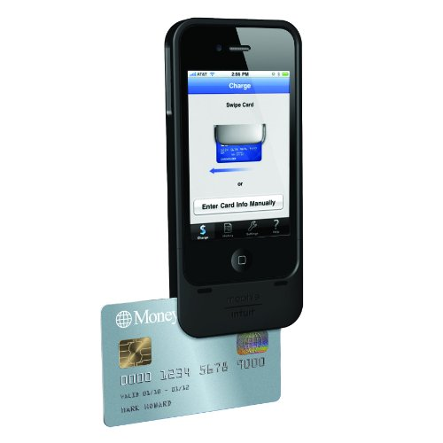 mophie marketplace complete credit card reader for Intuit GoPayment for iPhone 4