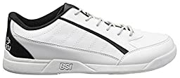 BSI Men\'s Sport Shoe, White/Black, Size 16.0