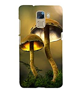 Vizagbeats Mushrooms Back Case Cover for Huawei Honor 7