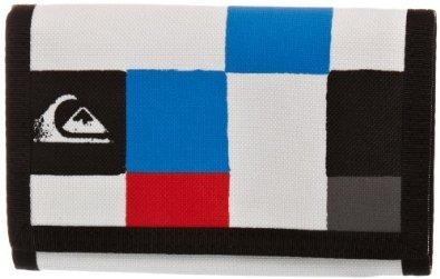 Quiksilver portafoglio da uomo Wave Station FPLAIN X12, Blu brillante, S, 0.06litri, ktmwt201-bnl1