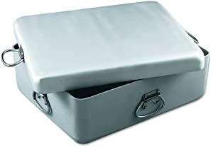 Alegacy HDAS201735 Professional Heavy Duty Aluminum Roast Pan with Cover, 20-7/8 by 17-3/8 by 4-7/8-Inch