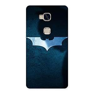 Ajay Enterprises Ft Bats Bluex Back Case Cover for Huawei Honor 5X
