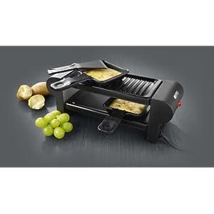boska appareil raclette electrique duo pour deux personnes 220v raclettes fondues. Black Bedroom Furniture Sets. Home Design Ideas