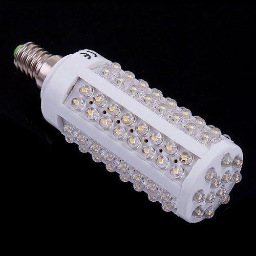 Kingzer 6X E14 220V Led Corn Light Bulb Lamp 5W 108 Led Warm White