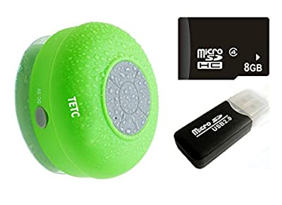 Waterproof Wireless Bluetooth Shower Speaker Handsfree Speakerphone Compatible with All Bluetooth Devices Iphone 8s and All Android Devices