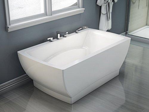 Freestanding BELIEVE Bathtub 36x66, White Believe Bath