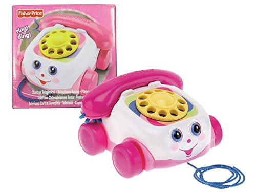 Fisher Price *Chatter Telephone* Pink - 1