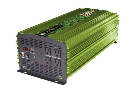 Power Bright ML3500-24 3500 Watt 24 Volt DC To 110 Volt AC Power Inverter
